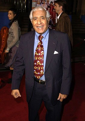 Kumar Pallana at the Hollywood premiere of The Royal Tenenbaums