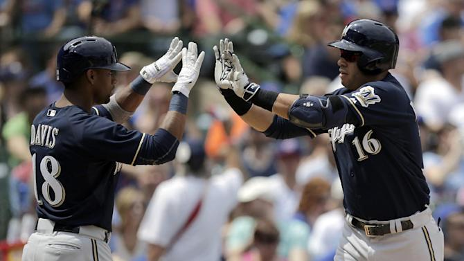 Ramirez homers, drives in 3 to lead Brewers over Cubs 5-3