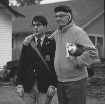 Jason Schwartzman and Seymour Cassel in Touchstone's Rushmore