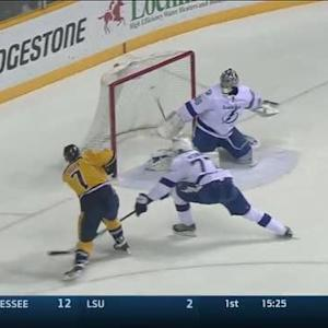 Matt Cullen buries a power-play goal