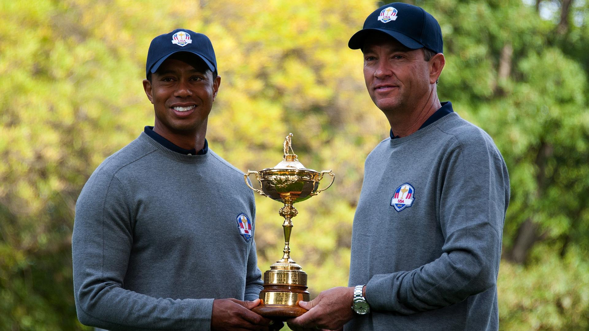Tiger happy to play part at Ryder Cup
