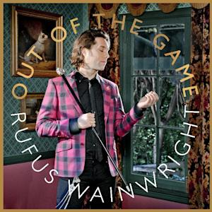 """In this CD cover image released by Decca, the latest release by Rufus Wainwright, """"Out of the Game,"""" is shown. (AP Photo/Decca)"""