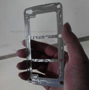 Picture of metal Galaxy S5 frame purportedly leaks