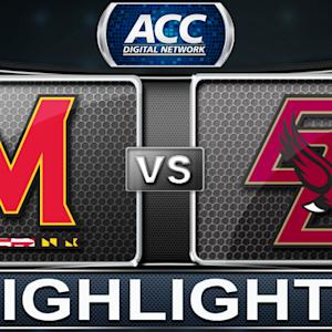 Maryland vs Boston College | 2013 ACC Basketball Highlights