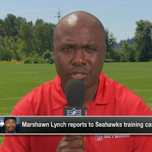 Marshall Faulk on running back Marshawn Lynch: Seattle Seahawks can focus on football now