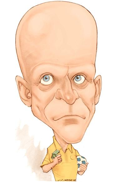 CARICATURE: Collina Pierluigi