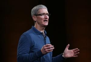 Apple CEO Tim Cook's Compensation Drops Nearly 99% (For Now)