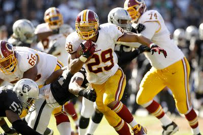 Roy Helu making a good impression in training camp, fantasy value still low