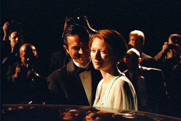 Benjamin Bratt and Tilda Swinton in Sony Pictures Classics' Thumbsucker