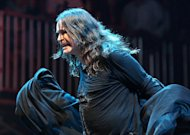 Ozzy Osbourne of Black Sabbath performs aLollapalooza on opening day in Chicago's Grant Park on Friday, Aug. 3, 2012. (Photo by Steve C. Mitchell/Invision/AP)