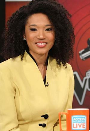 'The Voice's' Judith Hill stops by Access Hollywood Live on March 26, 2013 -- Access Hollywood