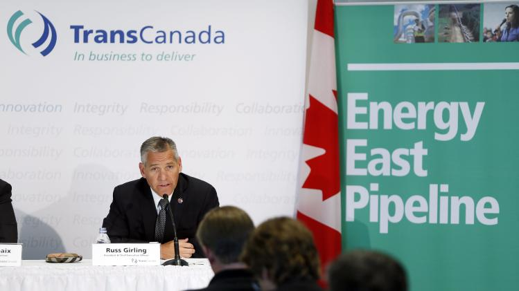 TransCanada to build pipeline to Atlantic Canada