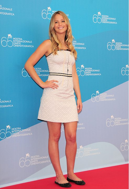 Venice Film Festival 2008 The Burning Plain photocall Jennifer Lawrence