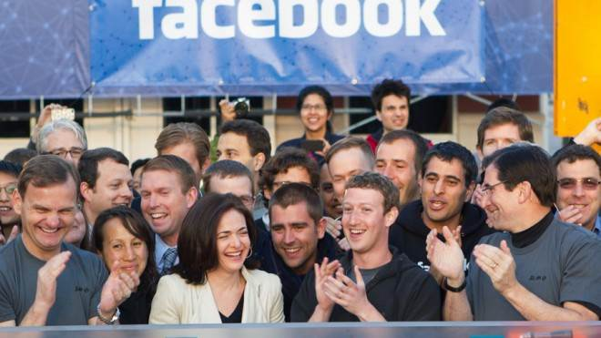 Facebook's IPO: The good old… uh, day.