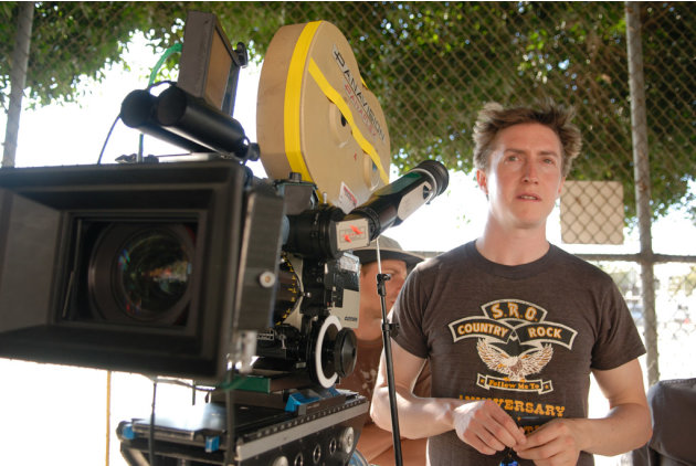 Director David Gordon Green Pineapple Express Production Stills Columbia Pictures 2008