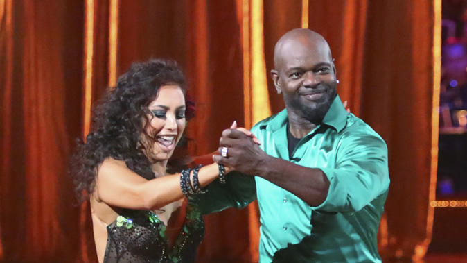 Cheryl Burke and Emmitt Smith (9/24/12)