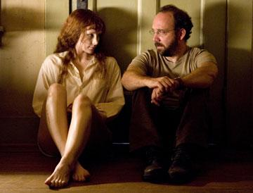 Bryce Dallas Howard and Paul Giamatti in Warner Bros. Pictures' Lady in the Water