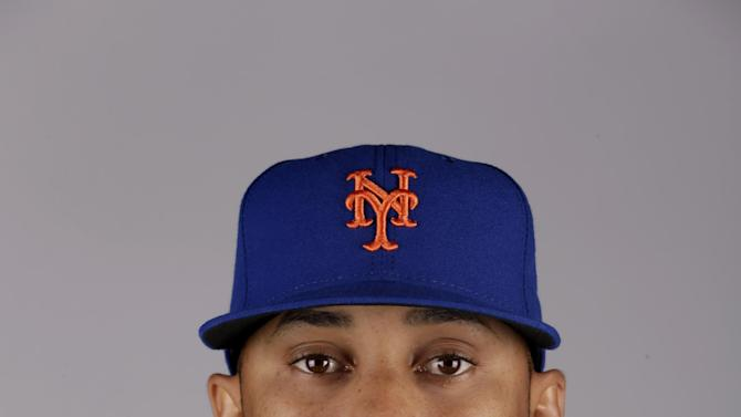 This is a 2015 photo of Dario Alvarez of the New York Mets baseball team. This image reflects the Mets active roster as of Saturday, Feb. 28, 2015, when this image was taken. (AP Photo/Jeff Roberson)