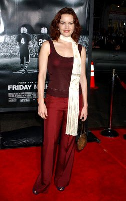 Carla Gugino at the Hollywood premiere of Universal Pictures' Friday Night Lights