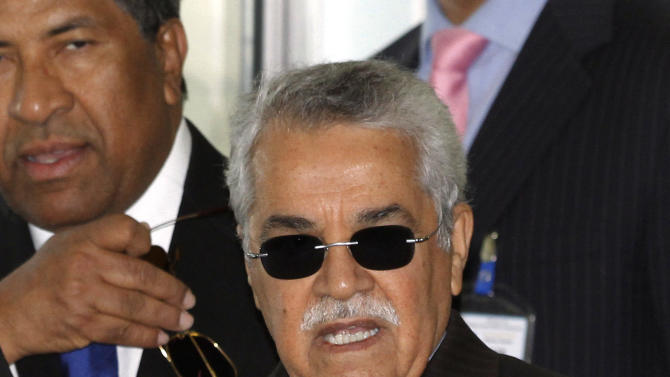 Saudi Arabia's Minister of Petroleum and Mineral Resources Ali Ibrahim Naimi arrives for a meeting of the Organization of the Petroleum Exporting Countries, OPEC, at their headquarters in Vienna, Austria, on Thursday, June 14, 2012. The meeting of the 12 oil ministers of the OPEC focuses on price and production targets. (AP Photo/Ronald Zak)