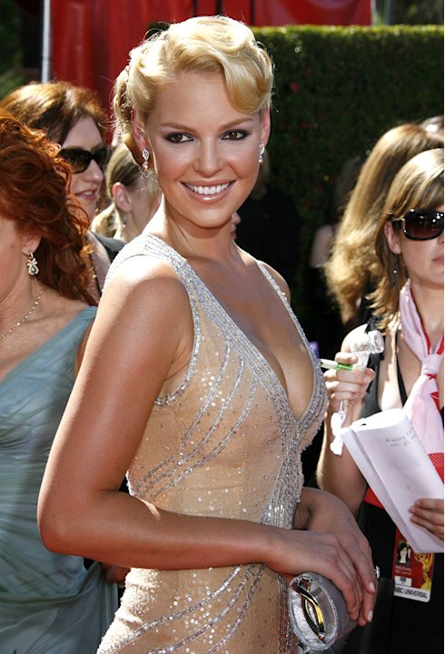 Katherine Heigl at The 58th Annual Primetime Emmy Awards.