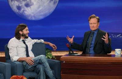 Conan interviews Ashton Kutcher, September 15, 2011 -- tbs