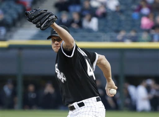 Peavy and White Sox power past Rays