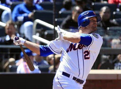 Duda hits 2 HRs, Wright adds HR, Mets beat Braves