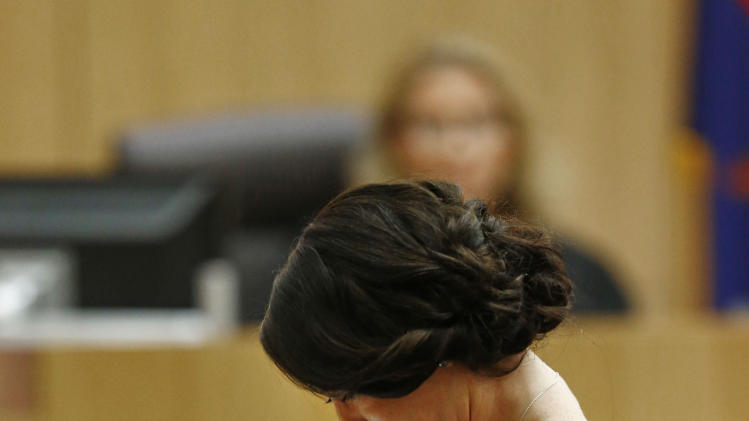 , May 16, 2013, during the penalty phase of the Jodi Arias trial ...