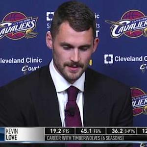 Love: Coming to the Cavs