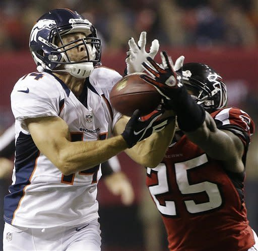 Ryan, Falcons beat mistake-prone Broncos 27-21