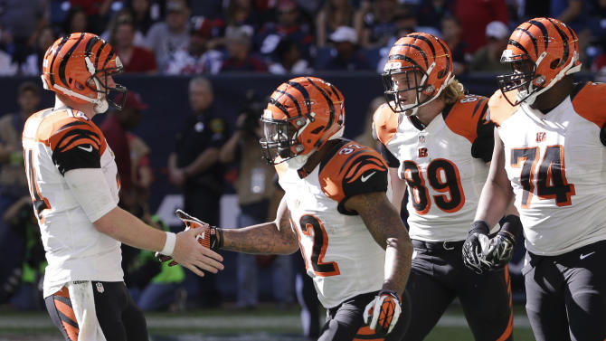Bengals turning into kings of the road