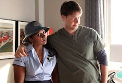 Mindy Kaling and Ike Barinholtz | Photo Credits: Beth Dubber/FOX