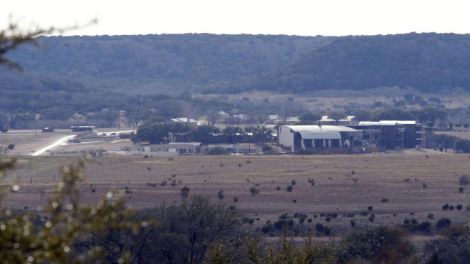 View of some buildings on the property of Rough Creek Lodge photographed Sunday, Feb. 3, 2013. Chris Kyle and Chad Littlefield were found murdered at the gun range on the property. (AP Photo/The Fort Worth Star-Telegram, Richard W. Rodriguez)
