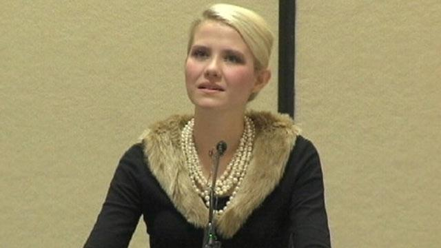 Elizabeth Smart Describes Harrowing Kidnapping
