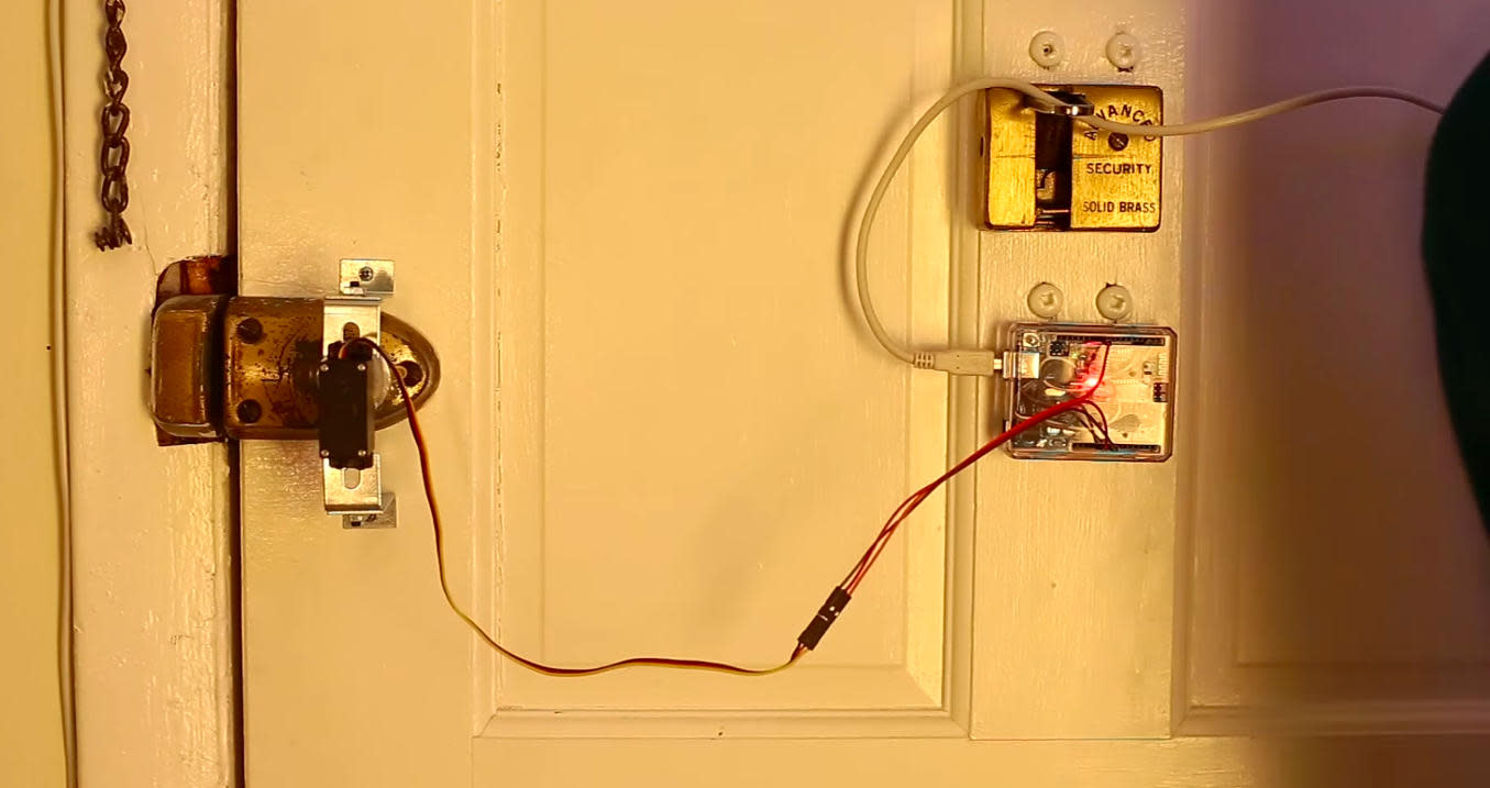 Unlocking your door might soon be as easy as 'open sesame'