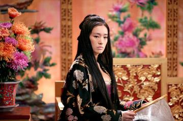 Gong Li in Sony Pictures Classics' Curse of the Golden Flower