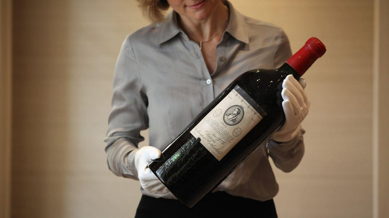Rare Bottles of Wine Hit Auction, Come With a Funny Story
