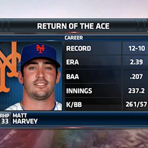 Matt Harvey joins Boomer and Carton