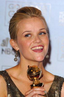 "Reese Witherspoon Best Actress in a Musical or Comedy - ""Walk the Line"" 63rd Annual Golden Globe Awards - Press Room Beverly Hills, CA - 1/16/06"