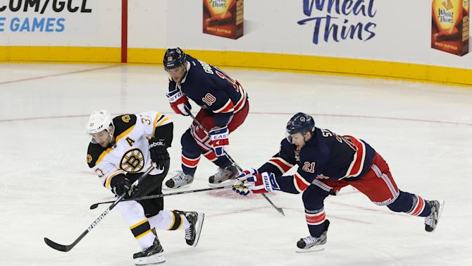 NHL: Boston Bruins at New York Rangers