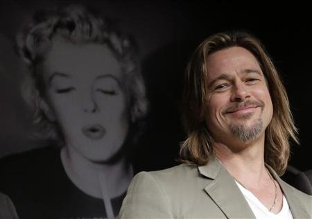 Brad Pitt mystifies as first male face of Chanel No.5