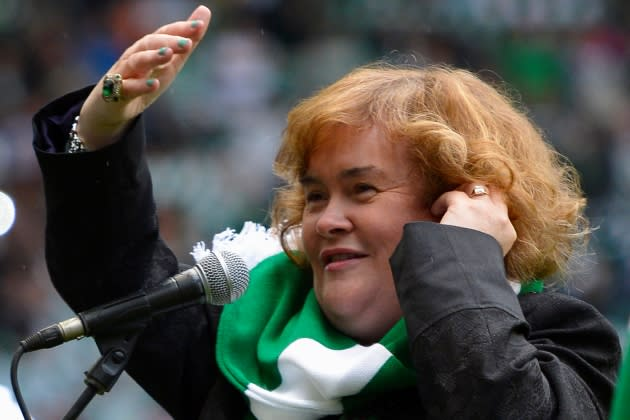 Celtic's star-studded team of celebrity fans