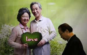 A man arrives at a government-sponsored matchmaking event for middle-aged singles and seniors in Shanghai