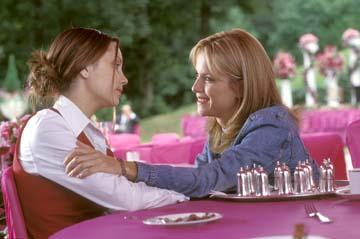 Amanda Bynes and Kelly Preston in Warner Brothers' What a Girl Wants