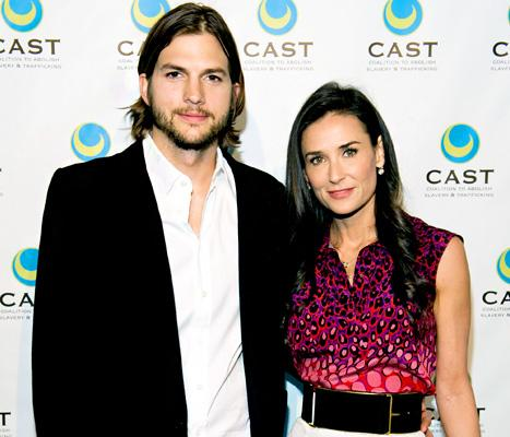 Demi Moore Wants Spousal Support from Ashton Kutcher, Officially Files Divorce Papers