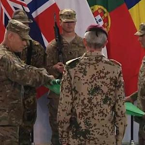 U.S. and NATO combat mission in Afghanistan ends