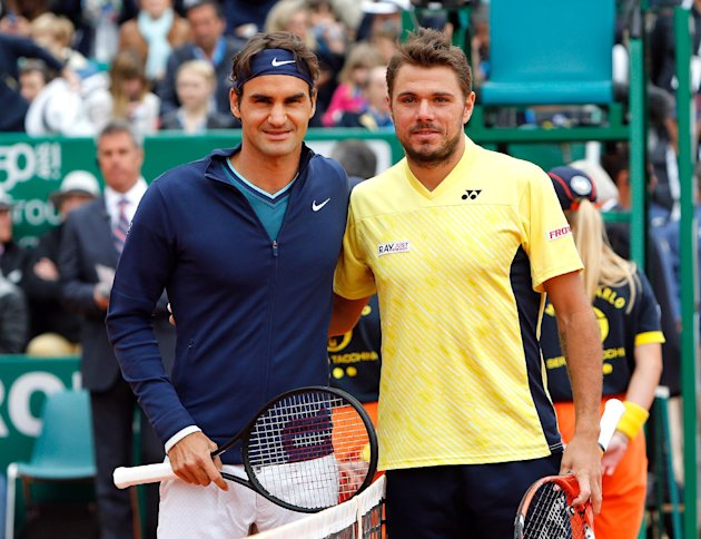 Stan Wawrinka is ranked ahead of Federer. But Wawrinka still bows to the king.