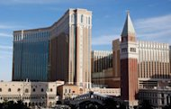 File photo of the Venetian Resort hotel Casino, owned by the Las Vegas Sands Corp. in Las Vegas, Nevada. Las Vegas Sands Corp. has chosen Madrid, Spain as the preferred location for building its next gambling resort, the company announced Friday