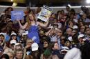 The Latest: Not all Sanders backers OK with protest request
